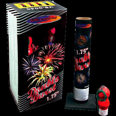 Фестивальные шары Double Burst (VS-0045) двухвзрывные